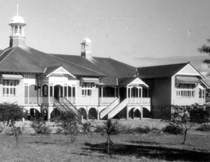Gympie State High School in the 1940's