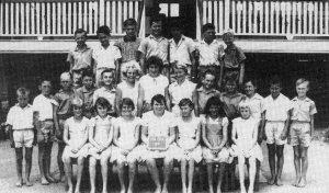 Children from Kia Ora School 1961