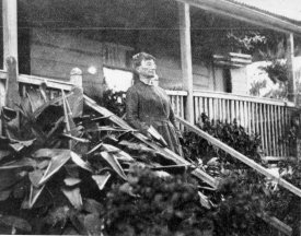 (65) Mrs Katherine Nash, wife of the discoverer at her home in Monkland Street, Gympie, source The Queenslander 29 Nov 1924 (JOL No 110053)