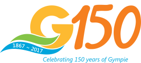 G150 1867-2017. Celebrating 150 years of Gympie