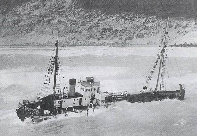 Natone Shipwreck, Rainbow Beach