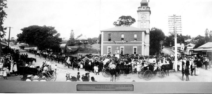 James Nash Memorial. 6 March 1915 Photo