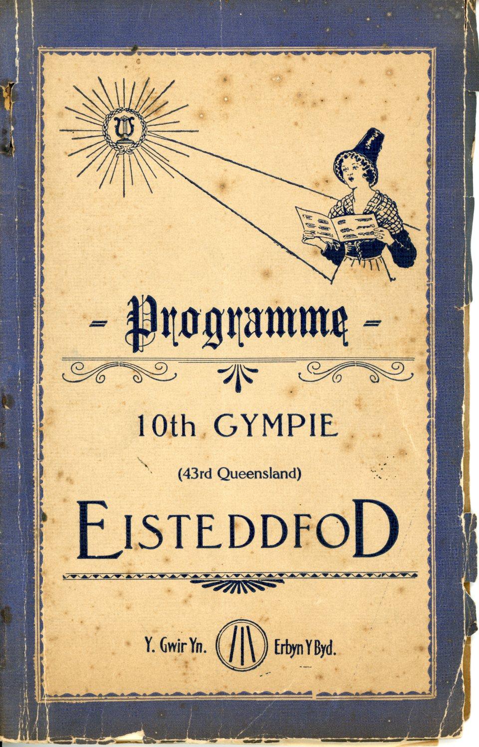 10th Gympie Eisteddfod Programme
