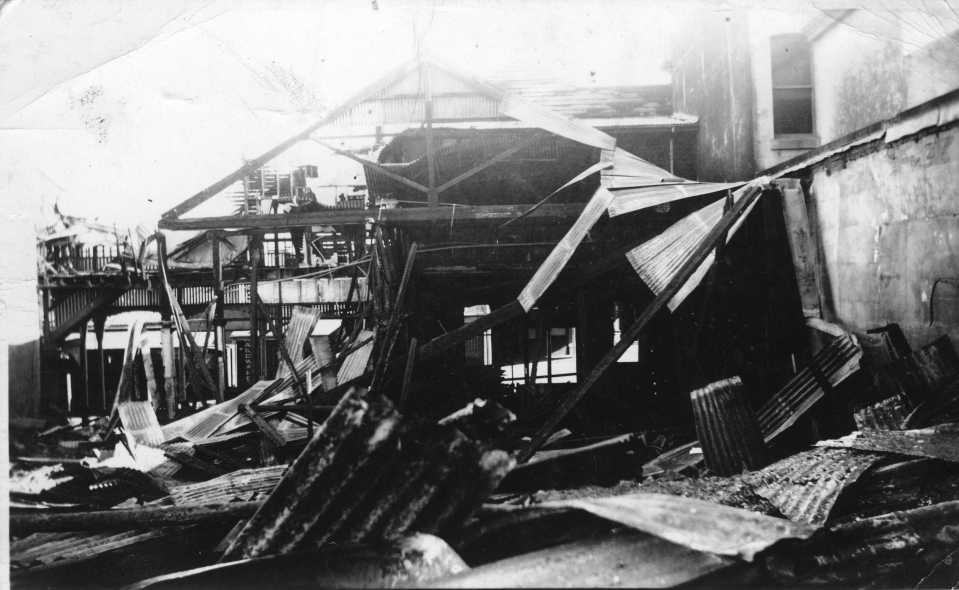 After the 1946 Mining Exchange Hotel fire
