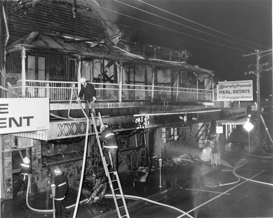 Tattersals Hotel Fire 1989