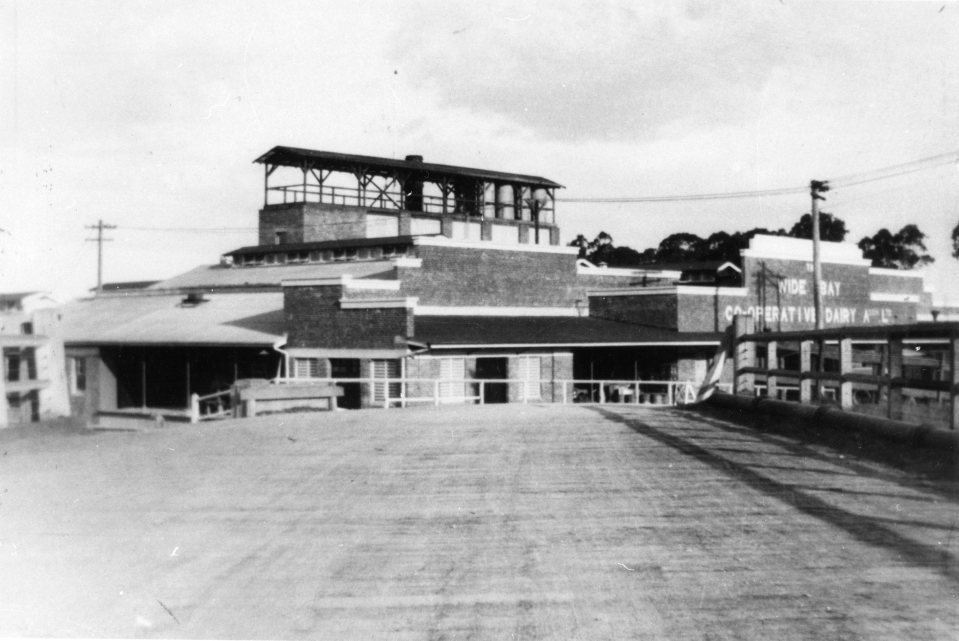 Wide Bay Cooperative Dairy Company Butter Factory, Gympie, 1924