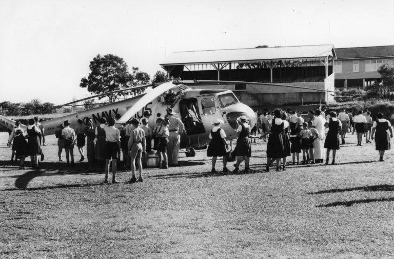 1955 Flood Gympie State High School