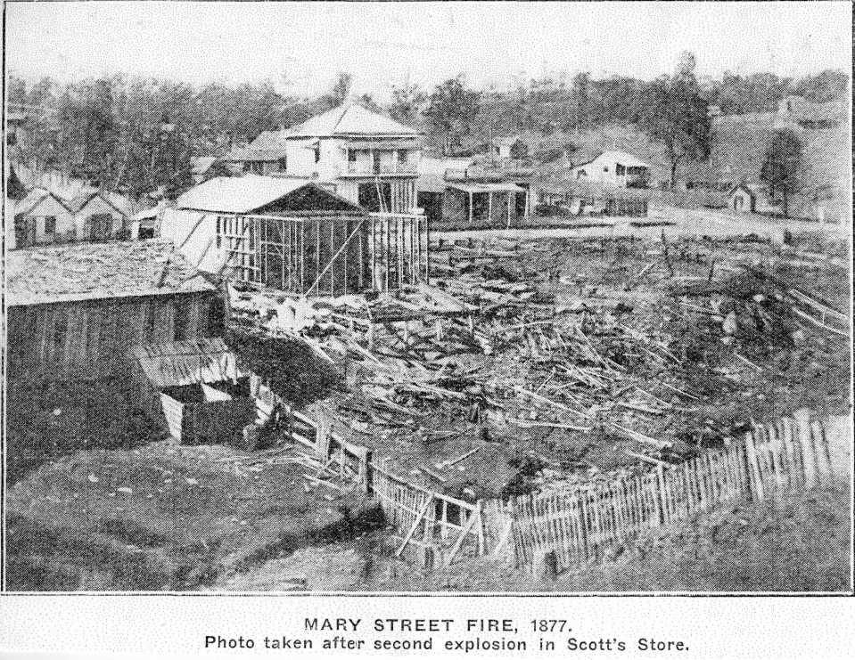 Mary Street Fire, 1877