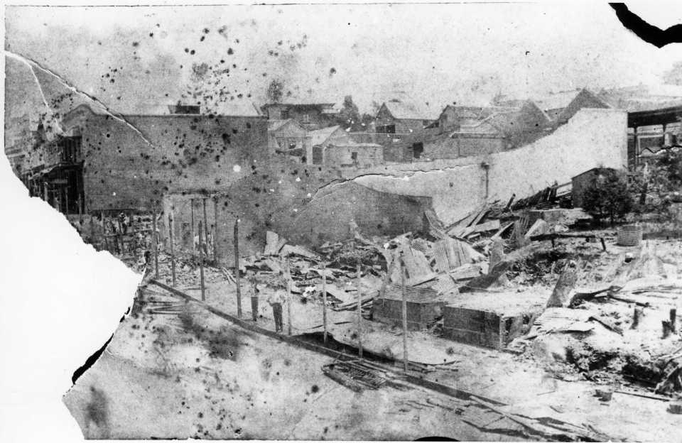 After the 1891 fire