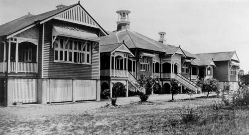 Gympie State High School ca. 1930. 1930 - SLQ. 1930