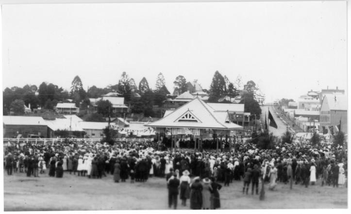 Prince of Wales visit August 1920 Memorial Park KW