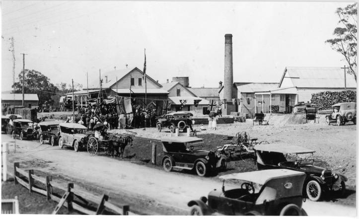 Prince of Wales visit August 1920 Wide Bay Dairy Co-op KW