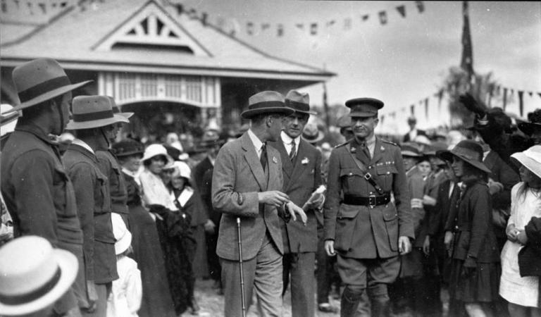 Prince of Wales at Gympie on 3 August 1920 State Library of Queensland