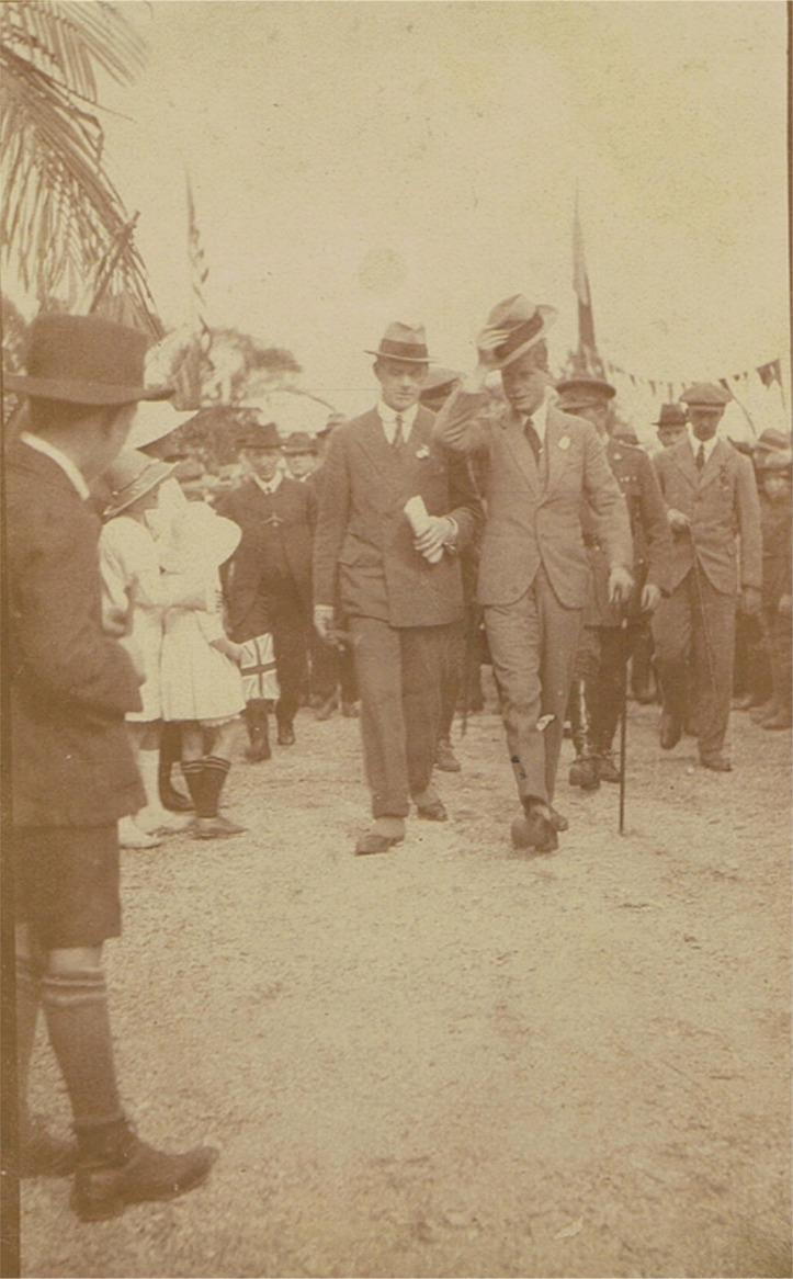 The prince in Gympie 1920