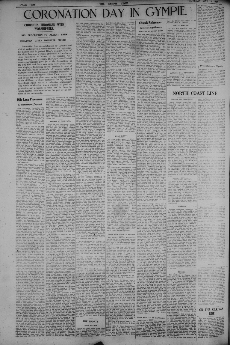 Thursday 13 May 1937 page 2