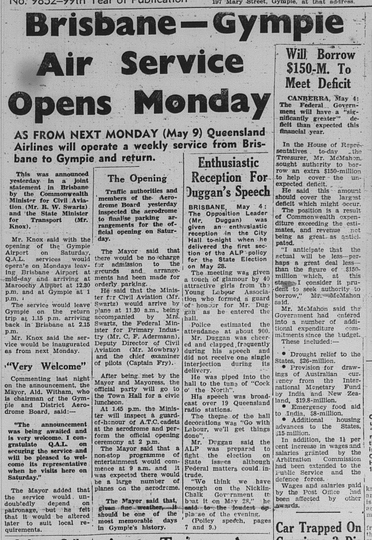 The Gympie Times, Thursday 5 May 1966 page 10