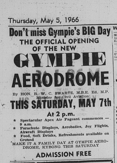 The Gympie Times, Thursday 5 May ad