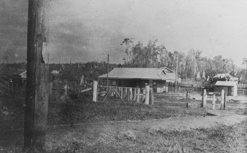 Woolooga Railway Station Queensland ca. 1925.