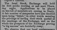 Gympie Times Saturday, July 5, 1884 p. 3 First meeting to be held