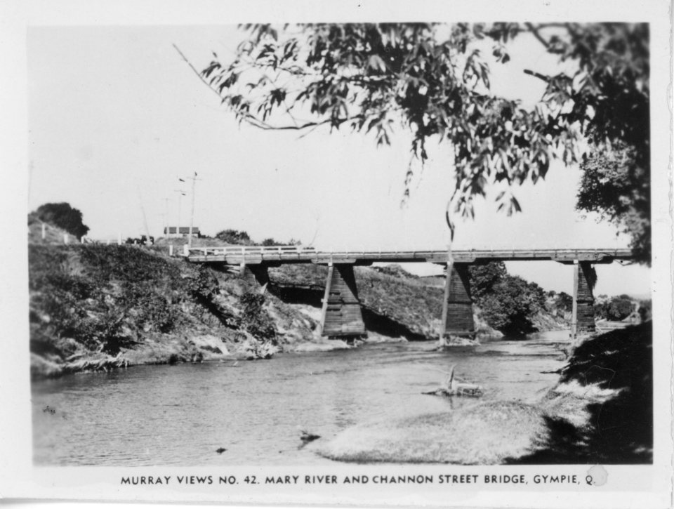 Murray Views No. 42 Mary River and Channon Street Bridge, Gympie, Q