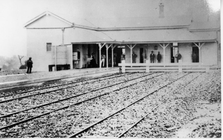 Original Gympie Railway Station 1881