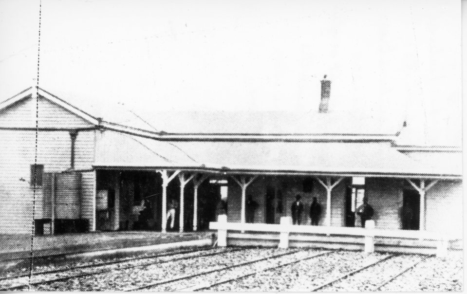 Gympie Railway Station first station 1881