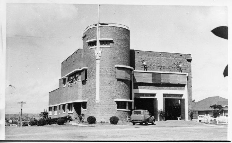 Gympie Fire Station built 1953 JOL 85748