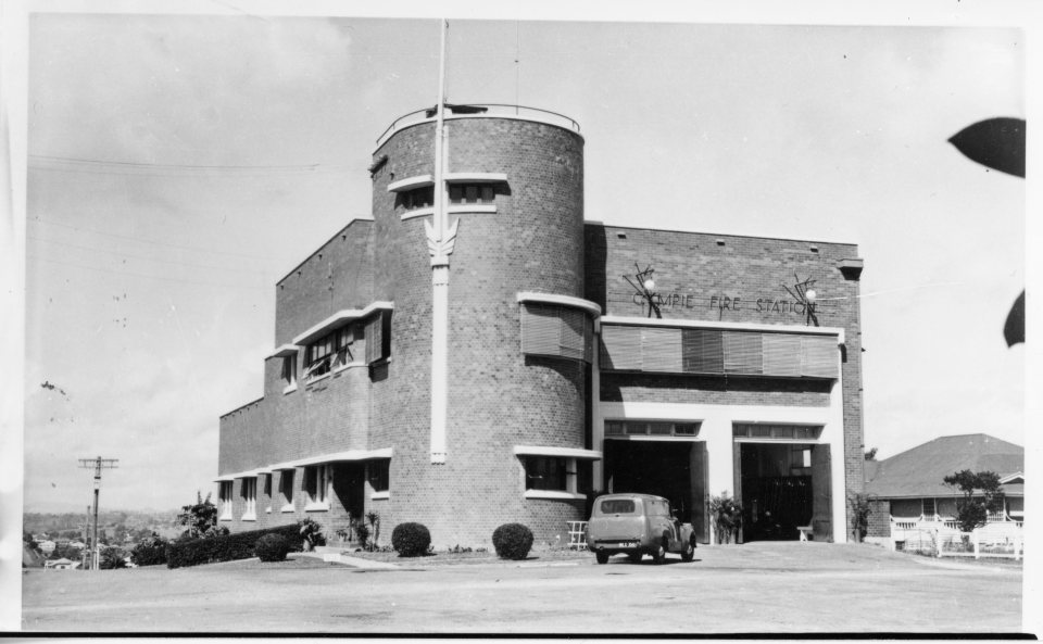 Gympie Fire Station built 1953 JOL 85748