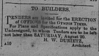 Gympie Times, Wednesday, August 17, 1881 p.2 Gympie Times Offices