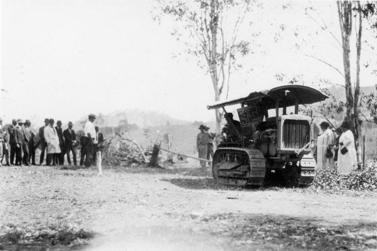 Public Demonstration of Road Plant, 14 September 1926,