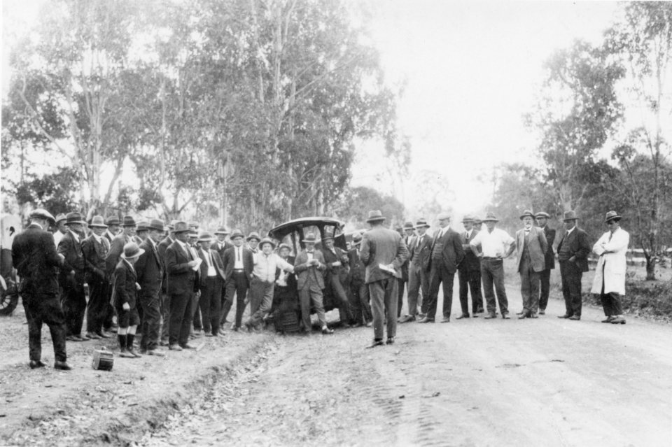 Public Demonstration of Road Plant, 14 September 1926,