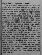 Gympie Times, Tuesday, September 27, 1932 p.7 Tornado photos Notes and News