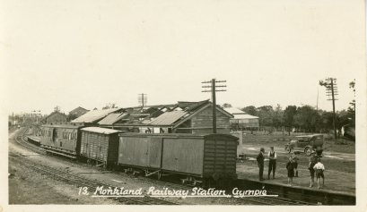 Monkland Railway Station, Gympie