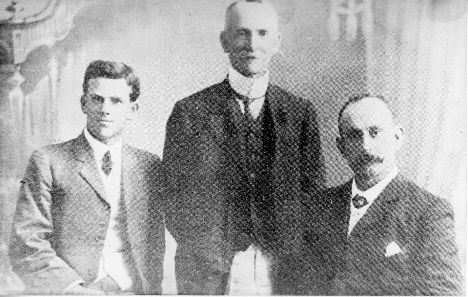 Post Officials 1910