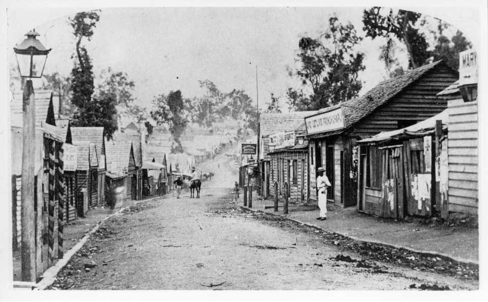 Mary Street 1868