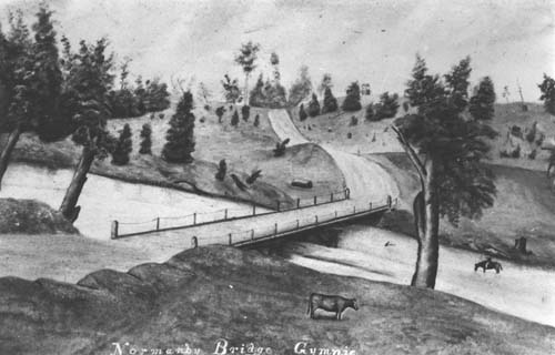 First Normanby Bridge ca1870