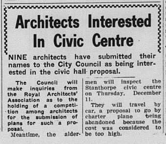 Architects interested in Civic Centre