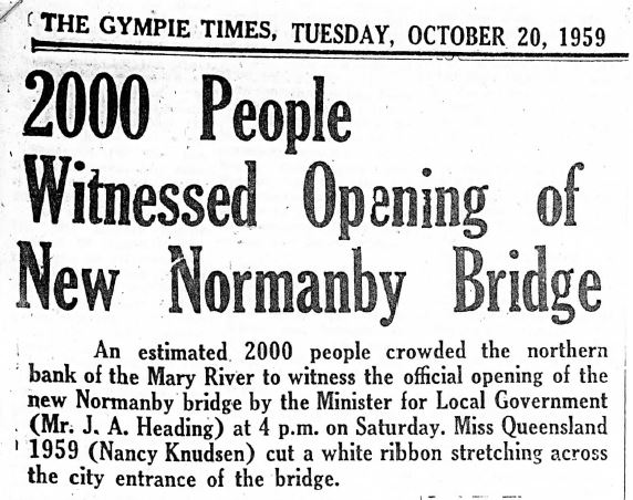 Gympie Times, Tuesday 20 October 1959