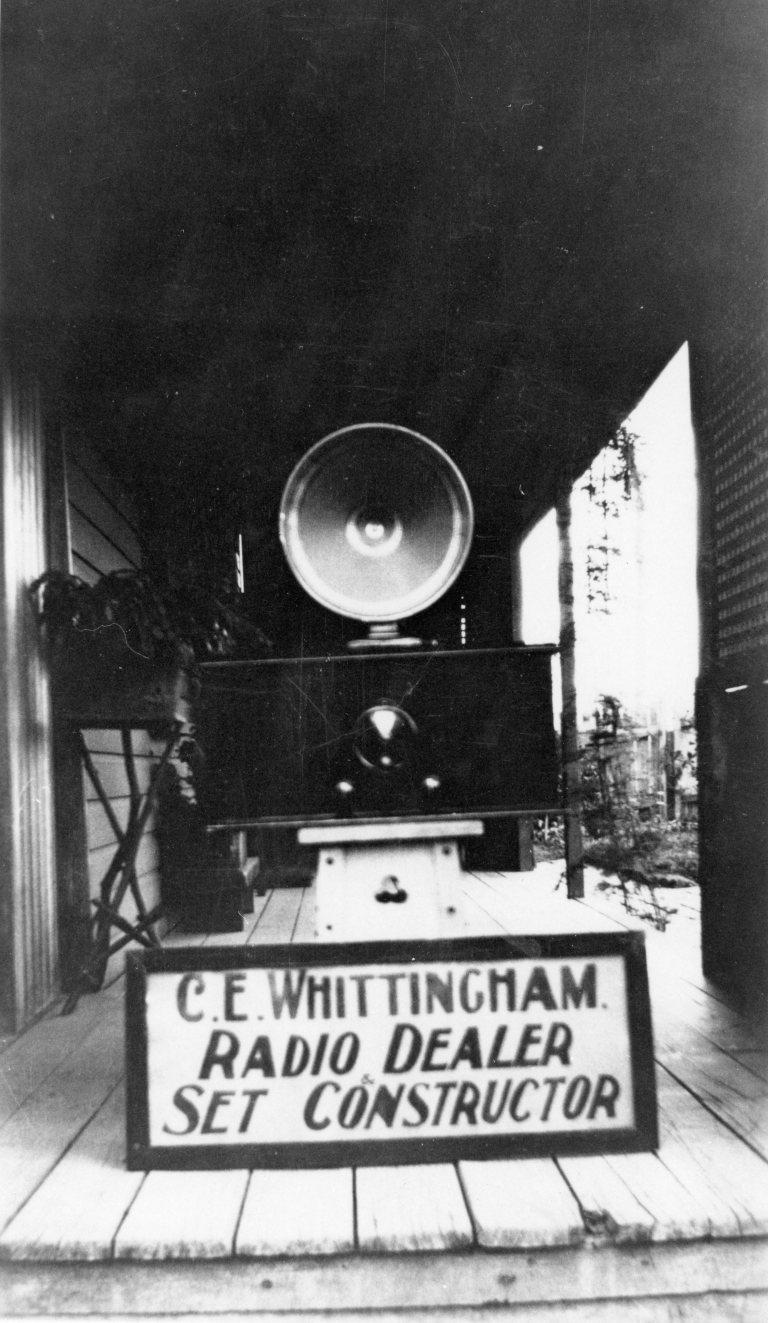 Charlie Wittingham, Radio Dealer and Set Constructor