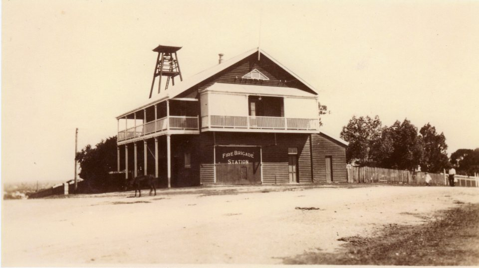 Gympie Fire Brigade Station, early1900s
