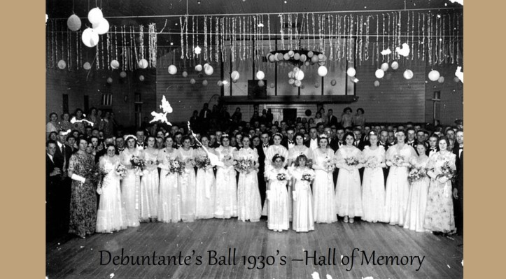 BLOG Hall of Memory Goomeri - Debuntante's 1930's