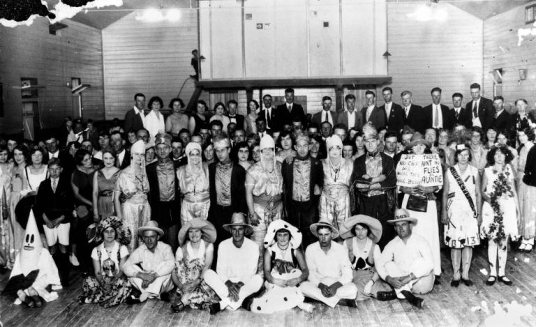 Fancy Dress Ball, 1930's Hall of Memory, JOL Negative 149719
