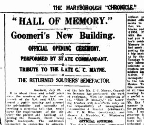 Hall of Memory - opening (article image for blog)