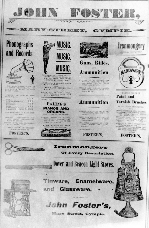 (57) John Foster general store 1910