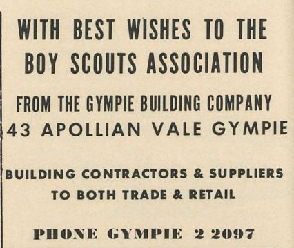 With best Wishes to the Boy Scouts Association